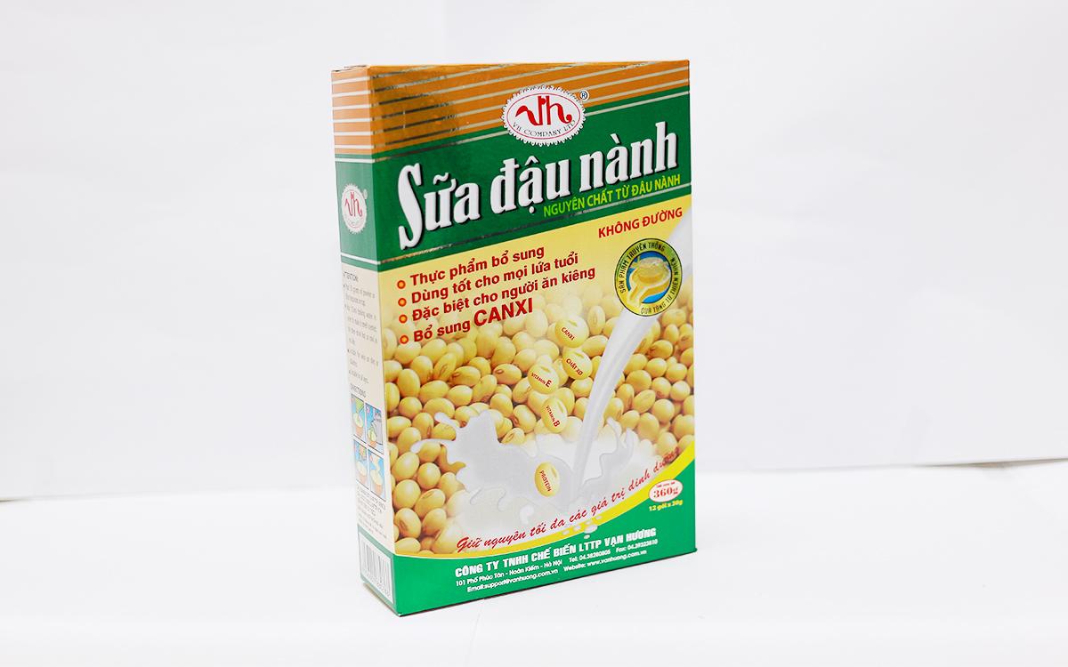 sữa đậu nành không đường 360g